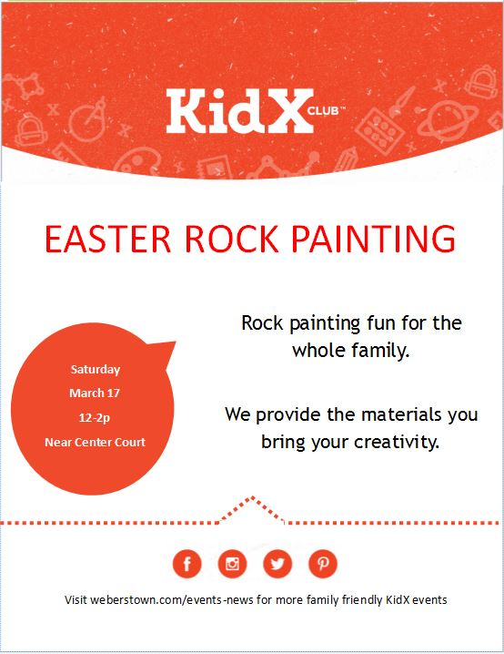 easter rock painting